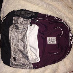Victoria's secret backpack!